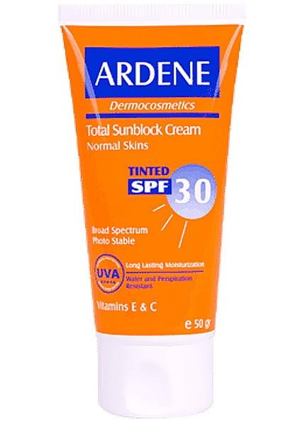 ضد آفتاب ضد آفتاب sunscreen cream arden tinted spf30 50g144447